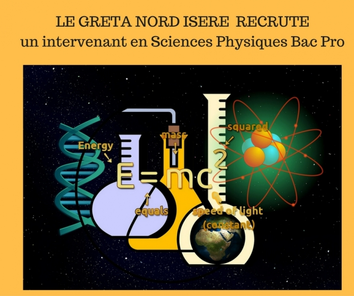 le greta nord isere recrute un intervenant en sciences